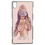 Coque Rigide Girl Tatoo Pour Sony Xperia Z3