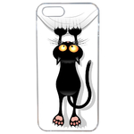 Coque Rigide Pour Apple Iphone Se Motif Chat Humour