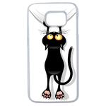 Coque Rigide Pour Samsung Galaxy S7 Edge Motif Chat Humour