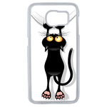 Coque Rigide Pour Samsung Galaxy S6 Motif Chat Humour