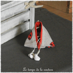 Berlingot - Beige rouge noir imp coccinelle 03