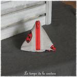 Berlingot - Beige rouge noir imp coccinelle 05
