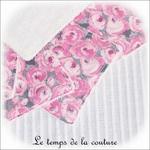 Sdb - lingette bambou - rose et gris fleur04 - GFC