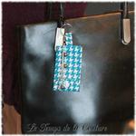 Bijoux de sac turquoise