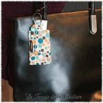 Bijoux de sac multicolore pois 2