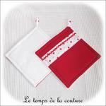 Cuisine - manique - rouge blanc imp fraise02 - GFC