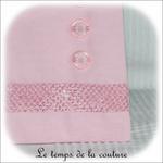 Pochette - droite - zippé - rose croco et boutons02 - GFC