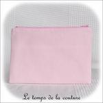 Pochette - droite - zippé - rose croco et boutons04 - GFC