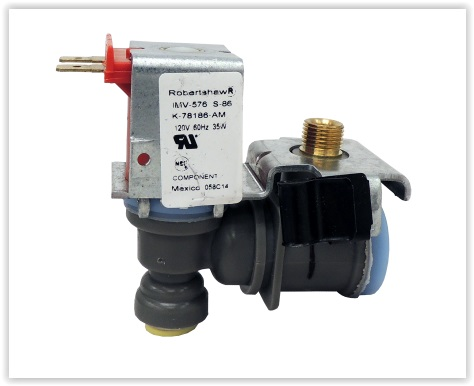 Électrovanne 1 voie 110V compatible 2315567 Whirlpool - Supco