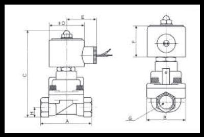 lectrovanne vapeur bronze 1 1 2 elv35012 elv solenoid valve. Black Bedroom Furniture Sets. Home Design Ideas