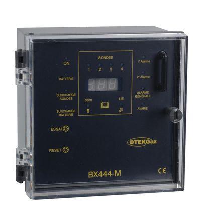 Centrale de détection gaz 4 sondes BX444-M - DTK08006 - D-TEK