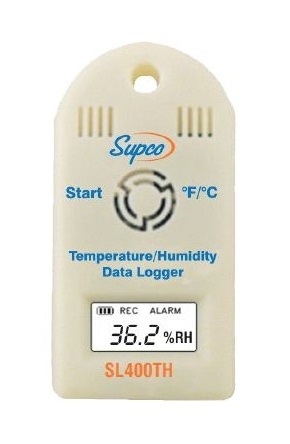 Mini enregistreur de température et d\'humidité - SL500TH - Supco