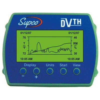 Enregistreur de température et d\'humidité DVTH - COP10012 - Supco