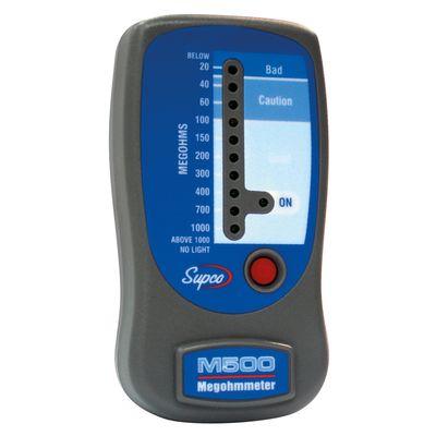 Mégohmmètre M500 et testeur d\'isolation - COP14004 - Supco