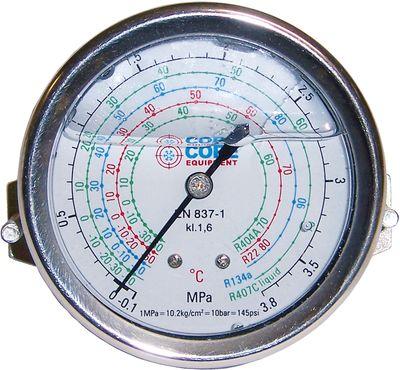 Manomètre glycérine inox étrier et vis de fixation - Core Equipment