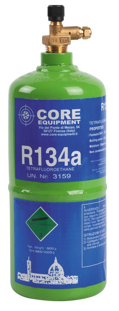Bouteille réfrigérant rechargeable gaz R134a 750ml Core Equipment