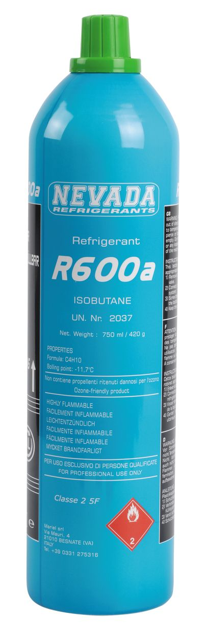 BOUTEILLE REFRIGERANT RECHARGEABLE ISOBUTANE 750ML 11001060 CORE