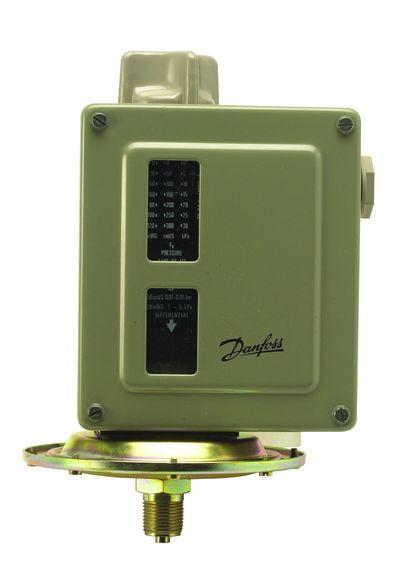 Pressostat eau / air / vapeur - Série RT - Danfoss