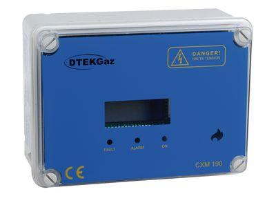 Centrale de détection avec capteur gaz naturel GN CXM200 - D-TEK