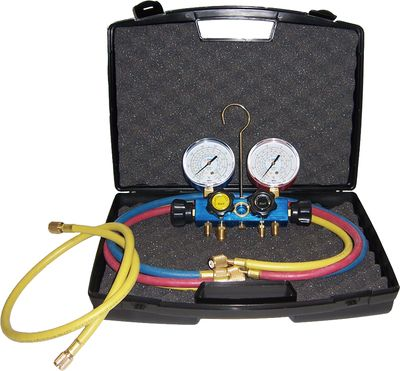 Mallette kit bypass 4 voies avec flexibles - Core Equipment