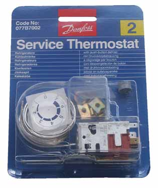 THERMOSTAT N°2 077B4055 - RVB201002 - DANFOSS