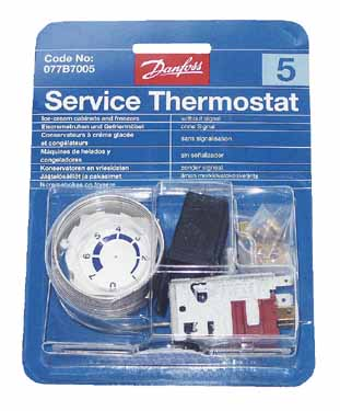 THERMOSTAT N°5 077B0815 - RVB201005 - DANFOSS