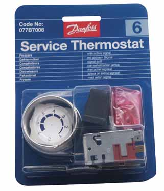 THERMOSTAT N°6 077B2033 - RVB201006 - DANFOSS