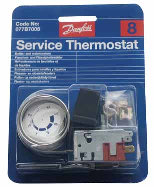 THERMOSTAT N°8 077B0816 - RVB201008 - DANFOSS
