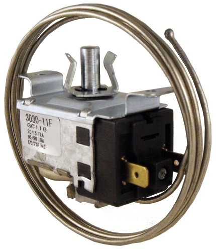 THERMOSTAT BULBE CAPILLAIRE OUVERT 120CM SUPCO GC116 COMPATIBLE GE WR9X208