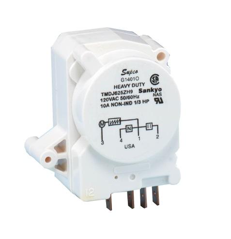 Minuterie de dégivrage 110V K1401GEO compatible GE WR9X387