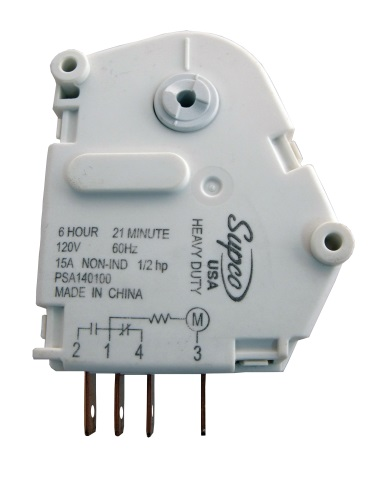 MINUTERIE DE DÉGIVRAGE 110V SPA1401AD SUPCO COMPATIBLE MAYTAG 66128-1
