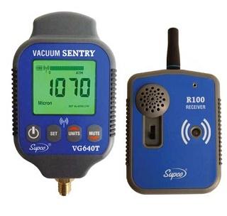 Vacuomètre avec alarme déportée VG 640T - COP18014 - Supco