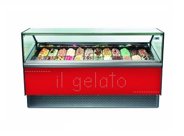 VITRINE A GLACE VENTILEE - NEW MILLENIUM 16 - ISA