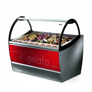 VITRINE A GLACE VENTILEE - NEW MILLENIUM 24 - ISA