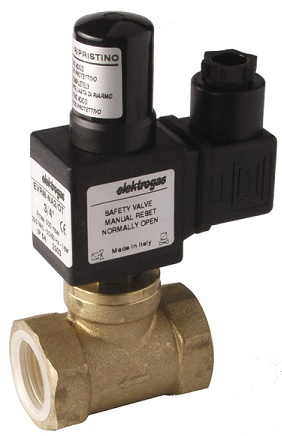 Électrovanne gaz EVRM 6NC0-OT taraudé 3/8 6 bar - Elektrogas