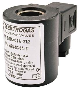 Bobines ATEX pour électrovanne EVMRMNC - Elektrogas