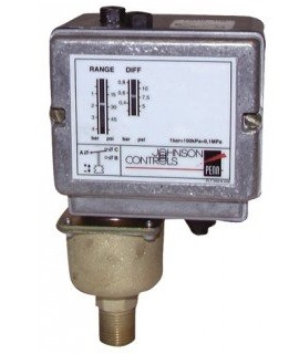Pressostat air / eau / vapeur P48AAA-9120 - Johnson Controls