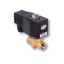 Électrovannes bronze eau air fioul 230V NF - ELV Solenoid Valve
