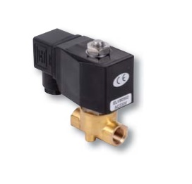 Électrovanne bronze air eau fioul 230V - ELV Solenoid Valve