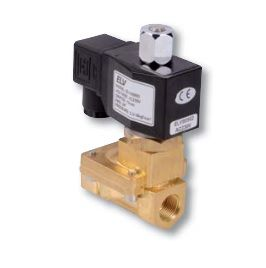 Électrovanne bronze à action indirecte 230v NO ELV Solenoid Valve