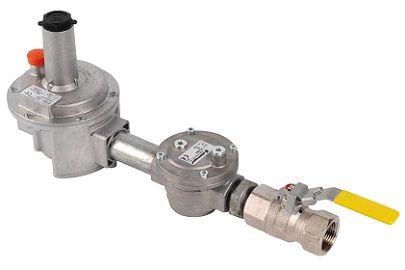 Kit détente basse pression gaz naturel - Elektrogas