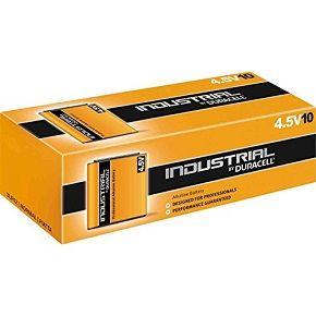 Boîte de 10 piles industrielles alcaline - 6LR61 - Duracell