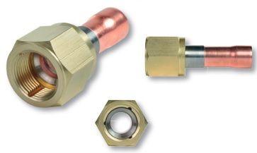 Raccord en acier 7/8 SAE - 3/4 à souder - RFL02030 - Flare