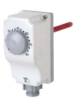 AQUASTAT PLONGEANT SIMPLE REGLAGE EXTERNE 10-90°C - THG30002 - TG