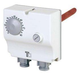 Aquastat plongeant double réglage externe - THG35008 - TG