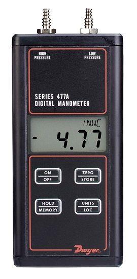 Manomètre digital - Série 477AV - Dwyer