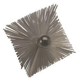 Hérisson de ramonage carré en acier ⌀150 à ⌀300