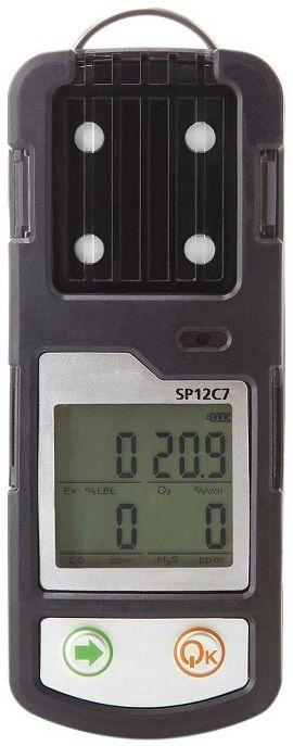 Détecteur multi-gaz portable (CH4, O2, CO, H2S) SP12C7 - D-Tek