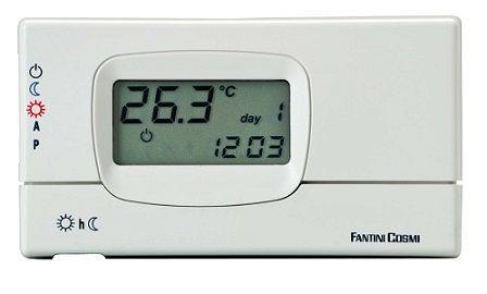Chrono-thermostat à programme hebdomadaire - C31 - Fantini Cosmi