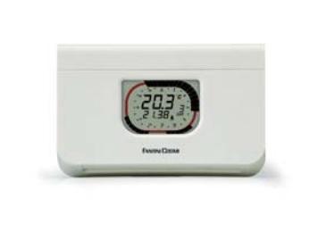 Chrono-thermostat à programme hebdomadaire et journalier - Fantini